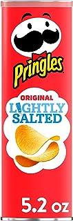 Pringles, Potato Crisps Chips, Lightly Salted Original, Snacks On The Go, 5.2oz Can