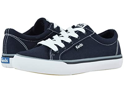 Keds Kids Jumpkick (Little Kid/Big Kid) (Navy) Girl