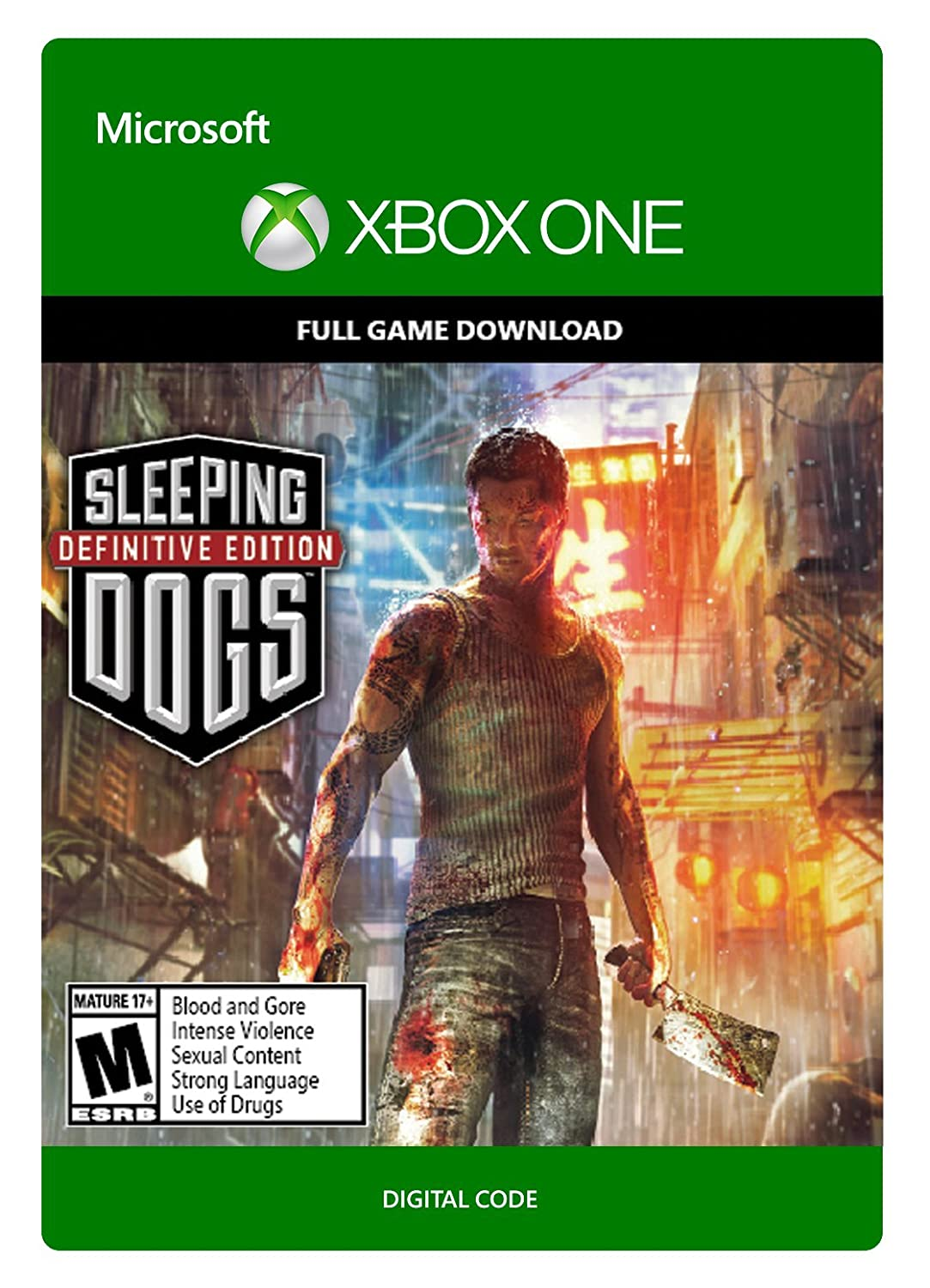 Max 82% OFF Sleeping Dogs: Definitive Edition - One Xbox Code Selling Digital