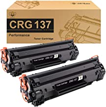 CMYBabee Compatible Toner Cartridge Replacement for Canon 137 CRG137 9435B001AA ImageClass LBP151dw D570 MF211 MF212w MF216n MF217w MF227dw MF229dw MF232w MF236n MF244dw MF247dw (Black, 2-Pack)