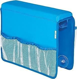 InterDesign Tub Saddle Storage, Neoprene - Mesh, Blue