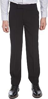 Calvin Klein Boys Boys' Bi-Stretch Flat Front Pant