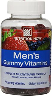 Nutrition Now Men's Gummy Vitamins, 70 Count