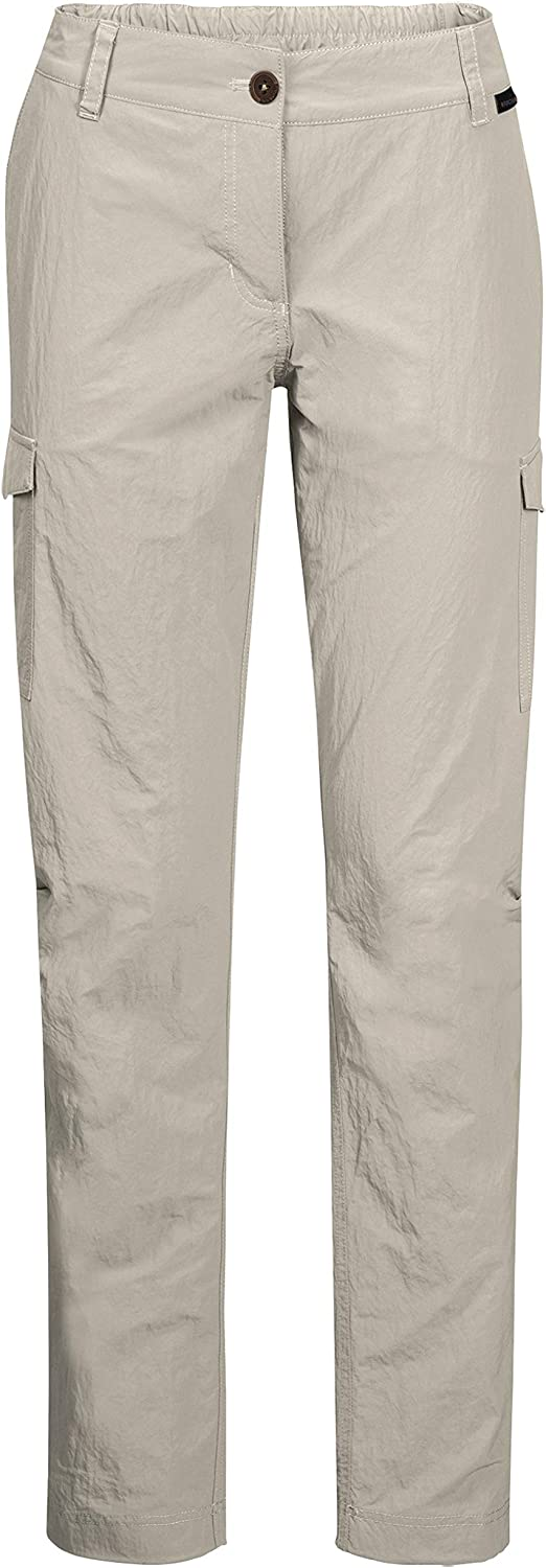 Jack Wolfskin Women's Lakeside Women's MosquitoProof Hunting and Hiking Pants, Dusty Grey, 46 (U Small 35 32)