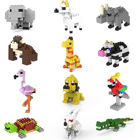 Children Toy Building Blocks Anime Mike Dog Construction Kits Model MicroBlock Blocks