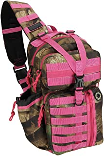 NPUSA Mens Tactical Gear Molle Hydration Ready Sling Shoulder Backpack Daypack Bag