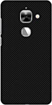 AMZER Handcrafted Designer Printed Slim Snap on Case - LeEco Le Max 2, LeTv Le Max 2 - Carbon Black with Texture