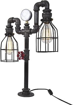 Amazon.com: Jaula de pájaros de diseñador Steampunk, lámpara ...