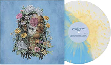 Ivy Sole ‎– Overgrown Exclusive Edition [Light Blue / Clear Vinyl With Yellow Splatter]