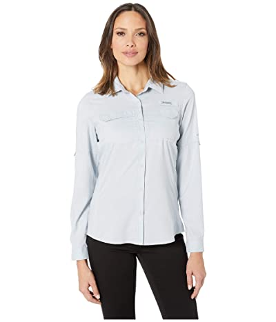 Columbia Lo Dragtm Long Sleeve Shirt (Cirrus Grey) Women