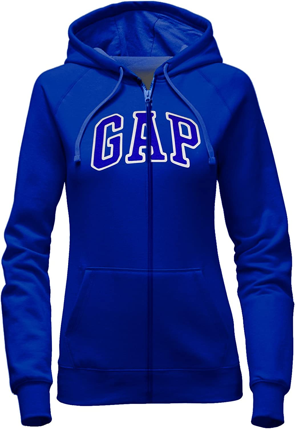 Gap Women's Full Zip Fleece Logo Hoodie