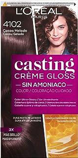 LOreal Paris Casting Crème Gloss Baño De Color 4102 Cacao Helado 240 g
