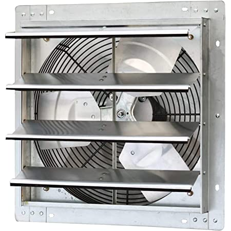 Iliving ILG8SF12V 12 inches Variable Speed Shutter Fan