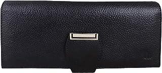 Mtuggar® Women Clutch Wallet Genuine Leather (2805-BLK)
