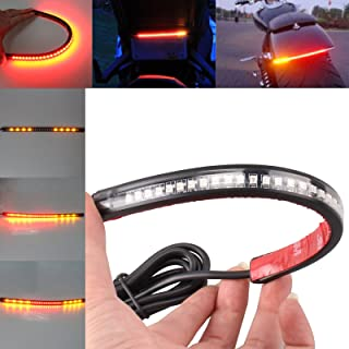Universal 32 LED Light Strip,Tail Trailer Brake Stop Turn Signal 3528 SMD 8