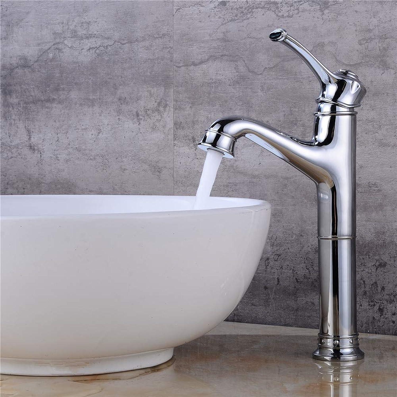 Waschtischarmatur Moderne Becken Wasserhahn Chrom Heie Und Kalte Einlochmontage Bad Wasserhahn Becken Kranhahn Waschbecken Mischbatterie