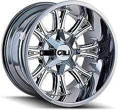 CALI OFF-ROAD AMERICANA (9101) CHROME: 20x12 Wheel Size; 6-135/6-139.7 Lug Pattern, 106mm Bore, 44mm Offset.