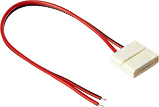 Ghost Speaker Wire 23 AWG + 2 Terminal Blocks, 2 Conductor, 25 ft Pure Copper with Adhesive Backing
