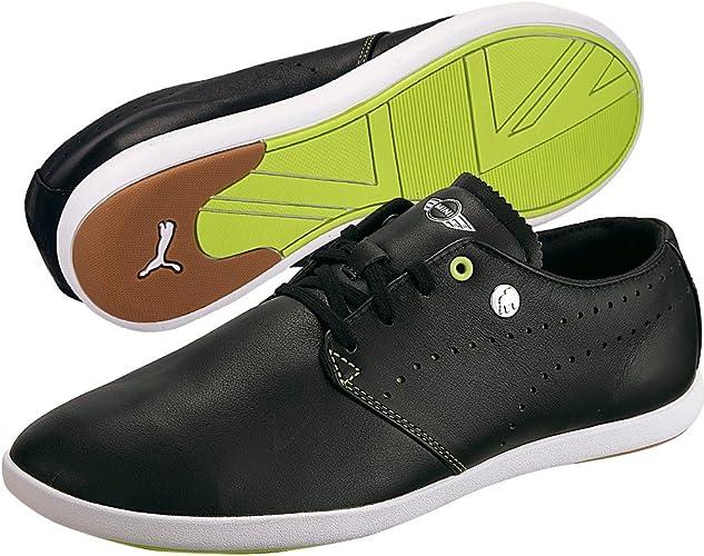 PUMA Mini Cooper Men Alwyn Low Shoes/Sneakers Black/Fluo Lime US ...