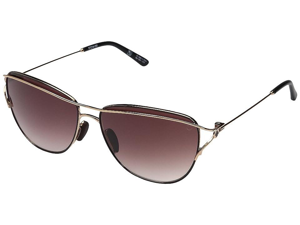 Spy Optic Marina (Rose Gold/Black/Happy Merlot Fade) Sport Sunglasses