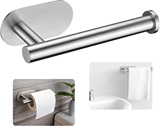 Porte-Papier Toilette,Porte Papier WC Mural,Porte Papier Toilette Auto-adhésif,Porte Rouleau Toilette pour Salle de Bain e...