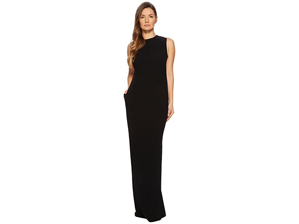ESCADA Gsanna Sleeveless Gown (Black) Women