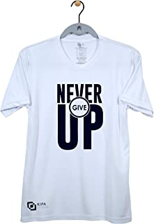 KIPA Never Give Up' T-Shirt - 201 - White