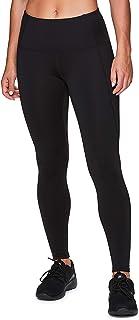 RBX Active Women's Fleece Lined Full Length Athletic Training Running Yoga Leggings