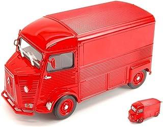 OPO 10 Lot de 3 camionnettes 3 inches identiques Norev 310803 Citroen HY Rouge