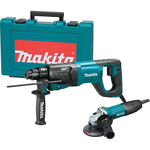 Makita HR2641X1 SDS-PLUS 3-Mode Variable Speed AVT Rotary Hammer with Case and