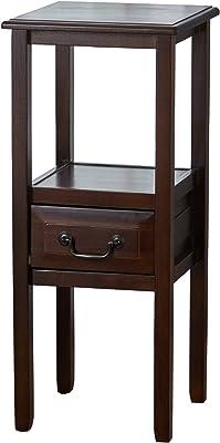 Christopher Knight Home Rivera Acacia Wood Accent Table, Brown Mahogany