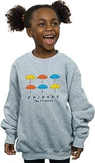 Absolute Cult Friends Girls Coloured Umbrellas Hoodie