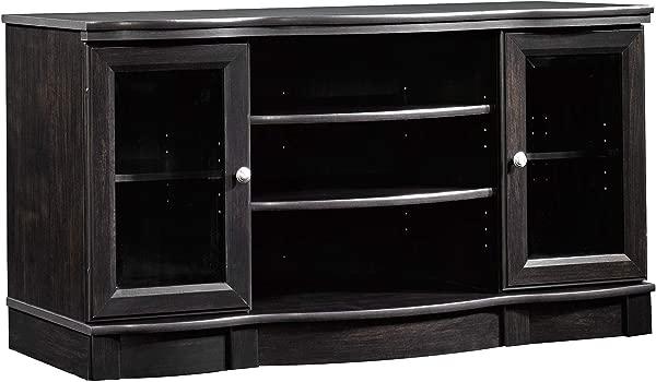 Sauder 412871 Regent Place 面板电视支架,用于电视 S 高达 50 个庄园黑色饰面