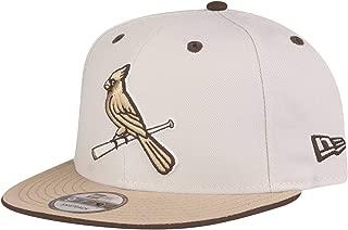 ニューエラ (New Era) 9フィフティ スナップバック キャップ - セントルイス・カージナルス (St. Louis Cardinals) キャメル
