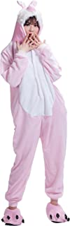 Pink Easter Bunny Rabbit Kigurumi Pajamas Anime Costume