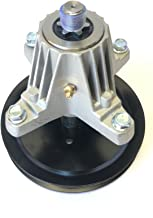 Updated (Threaded mounting Holes, Bolts Included) Spindle Replaces MTD Spindle 918-04865A, 618-04636, 918-04636, 618-04636A, 918-04636A