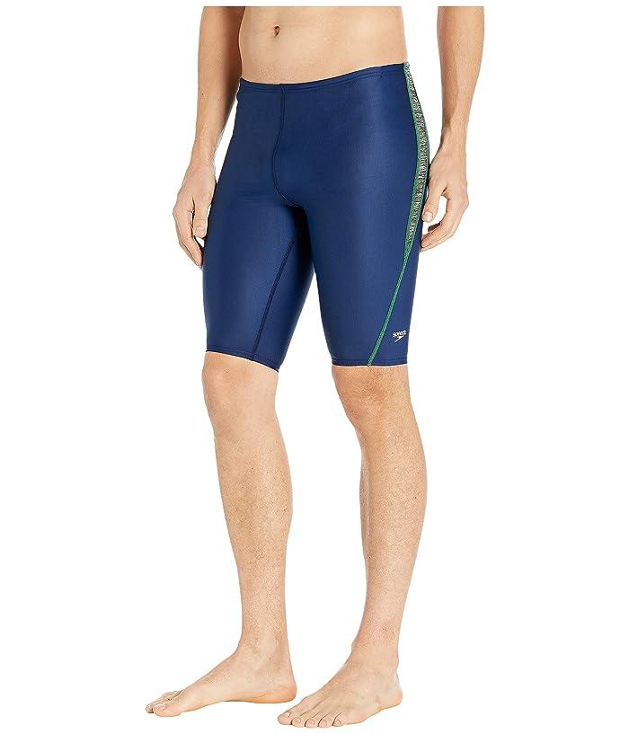 Speedo  Relaunch Splice Jammer (Blue/Green) Mens Swimwear