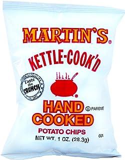 Martin's Kettle-Cook'd Hand Cooked Original Potato Chips 1 oz. Bag- 30 Bag Case Pack