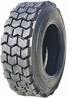 One New ZEEMAX Premium Super Duty 10-16.5/10PR L4 Skid Steer Tire w/ Rim Guard