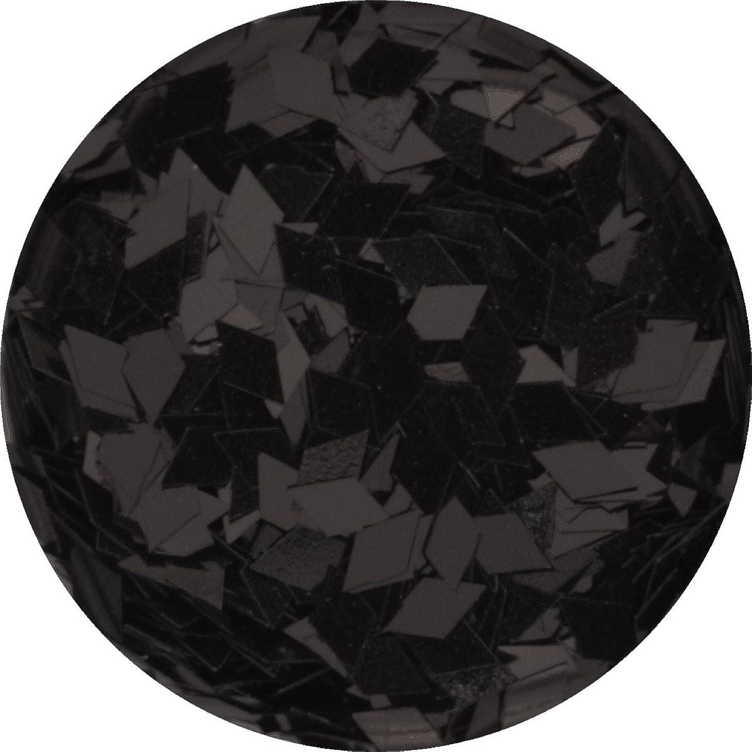 土地防止エゴイズムひし形 ダイヤ型 ホログラム 選べる12色 (06.ブラック)