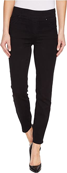 "Pull-On Ankle 28"" Dream Jeans in Black"
