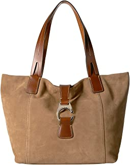 Derby Suede East/West Shopper