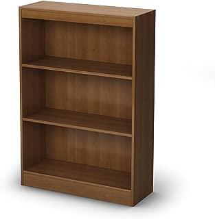 South Shore 3-Shelf Storage Bookcase, Morgan Cherry