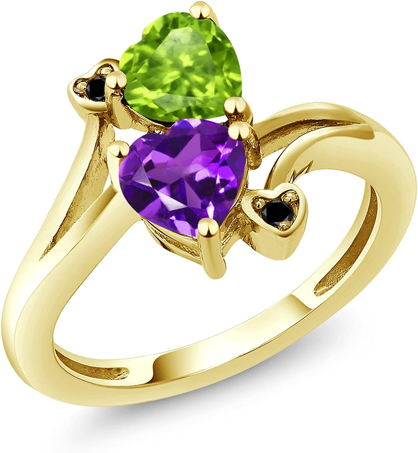 Gem Stone King 10K Yellow Customized Spasm price Ranking TOP3 Promise Gold and Personaliz