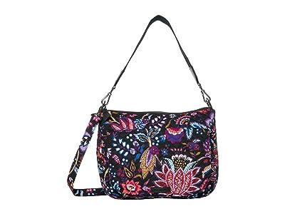 Vera Bradley Carson Shoulder Bag (Foxwood) Shoulder Handbags