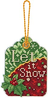 Dimensions Counted Cross Stitch, Let it Snow Ornament
