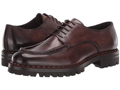 eleventy Lace-Up Chunky Shoe (Dark Brown) Men