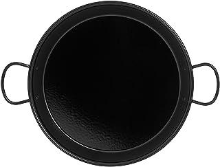 IMEX EL ZORRO Paellera esmaltada inducción, Negro, 36 cm