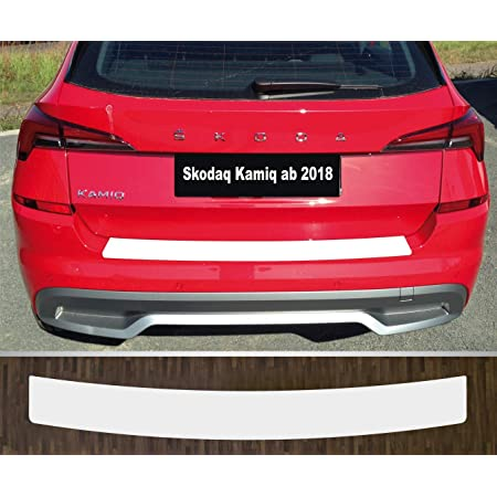 Is Tuning Passgenau Für Skoda Kamiq Ab 2019 Lackschutzfolie Ladekantenschutz Transparent Auto