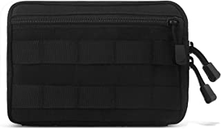 FUNANASUN Tactical Molle Admin Pouch - 1000D Water-Resistant Compact Utility EDC Tool Bag